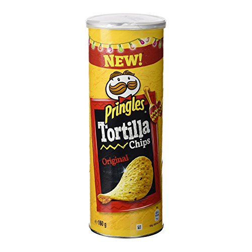 Pringles - Tortilla Chips Original - Producto de Aperitivo Frito - 160 g