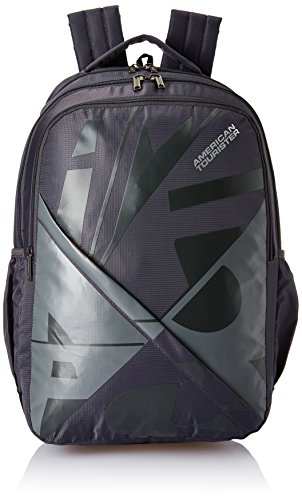 American Tourister 27 Ltrs Grey Casual Backpack (AMT Boom Backpack 03 - Grey)
