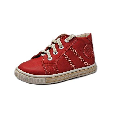 Kinderschuhe Lauflernschuhe für Mädchen rot Modell Emel 1234-3 (20)