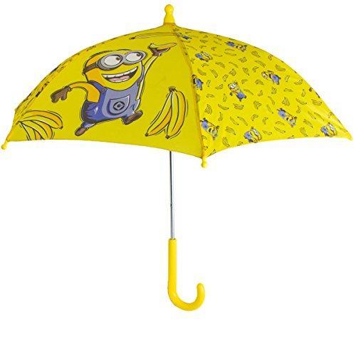 Minions Regenschirm für Kinder Stockschirm, 55cm
