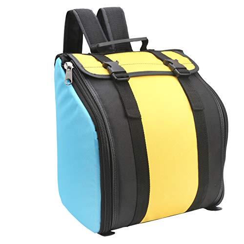 Lairun Sac à Dos accordéon, Sac de Transport pour accordéon étanche à 8 Basses, Sac de Transport résistant à l'usure, étui d'accordéon pour accordéon pour Enfants pour Adultes