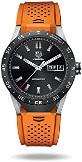 TAG Heuer CONNECTED Luxury Smart Watch (Compatible with Android/iPhone) (Orange)