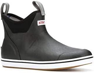 """Performance Series 6"""" Men's Full Rubber Ankle Deck Boots"""