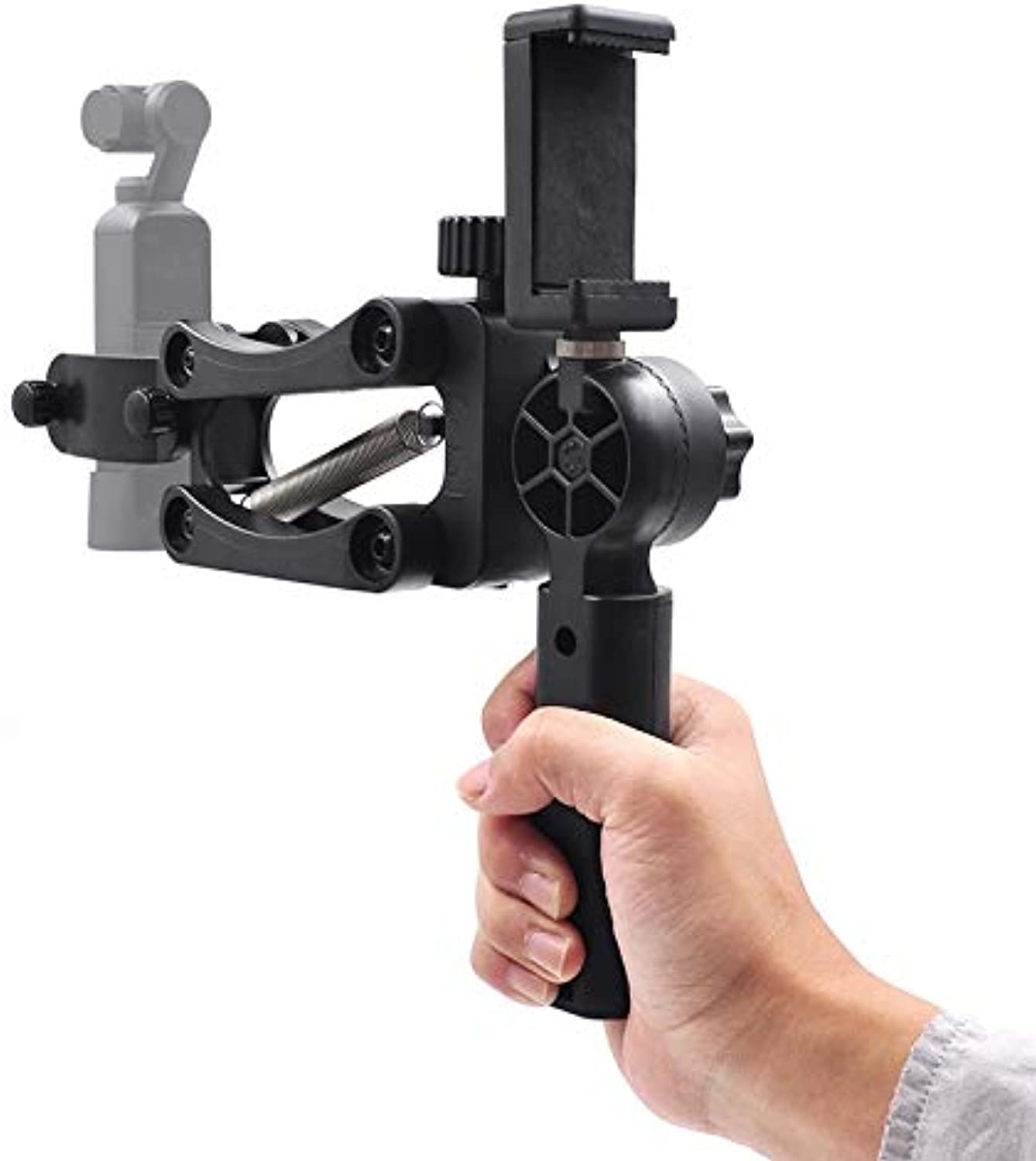 For DJI OSMO Pocket, 4-axis Stabilizer Single Hand-held Anti-Shake Stabilization Shock Absorber Bracket for DJI Osmo Pocket Camera