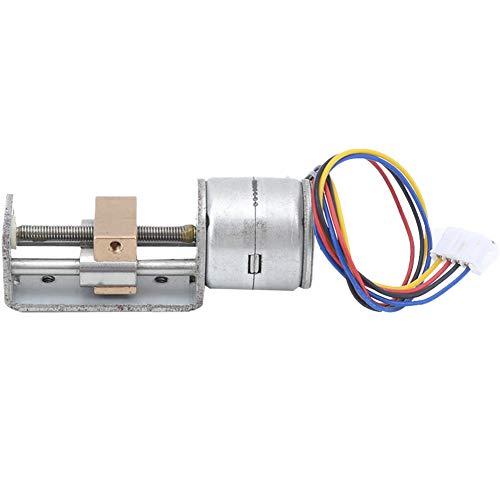 Practical Stepper Motor, 21Ω 20mm Metal Structure Mini Linear Slider Motor, 18° Measurement Equipment for Diy Small Slider