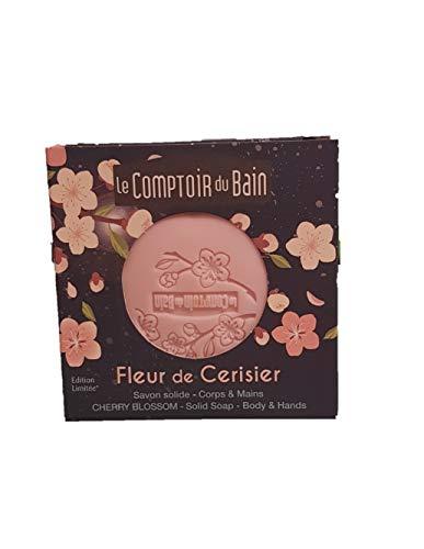 Le comptoir du bain savon fleur de cerisier 100g (par ADS)
