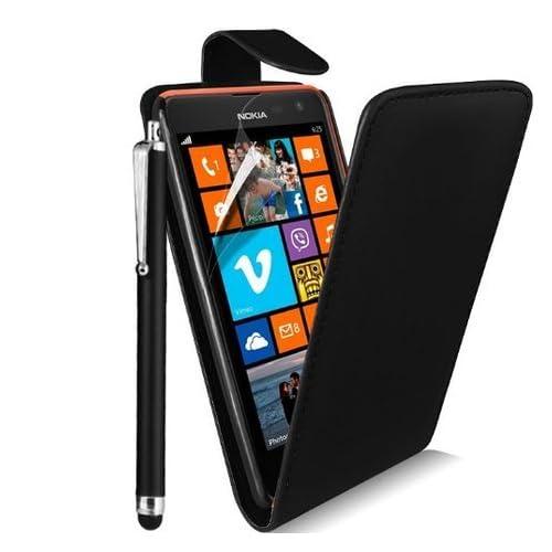 3324b04e3fdf NWNK13® Nokia Lumia 630 Premium Pu Leather Vertical Flip Wallet Case Cover  Pouch Plus Long