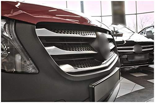 tuning-art 3309 Edelstahl Auto Grill Leisten Set 3D Passform fahrzeugspezifisch