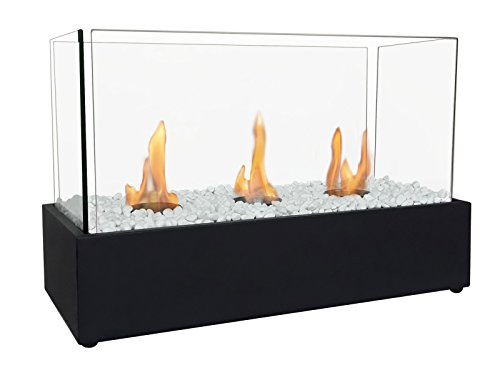 PURLINE Nympha Desktop BioFireplace with Single or Triple Flame