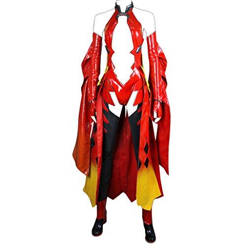 FarEastDayDream Holysteed Guilty Crown Cosplay Costume Yuzuriha Inori Costume Set US Women 5