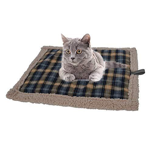 luckything Manta térmica para gatos y perros – Alfombrilla de calor lavable para gatos y perros – Tamaño 7658 cm