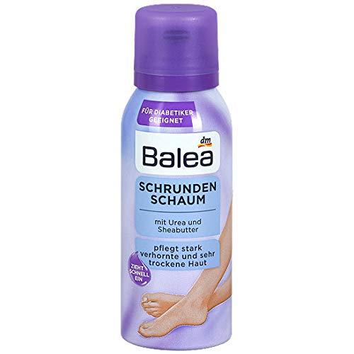 Balea Schrunden Schaum mit Urea & Sheabutter für Diabetiker Geeignet, 1er Pack (1 x 100 ml)