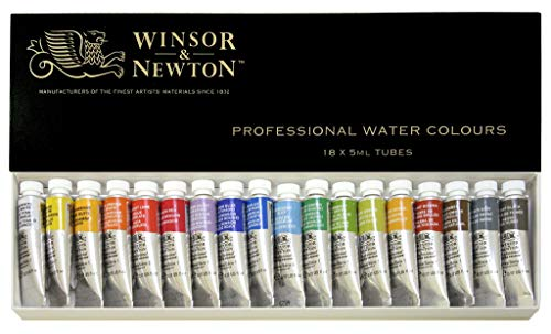 Windsor & Newton Artists Water 5ML tube 18C set (japan import)