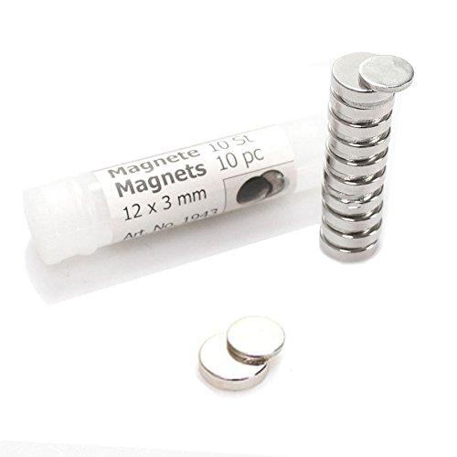 N/A 10 x Corsage Magnet Pin Anzug Anstecker Blume Hochzeit