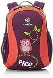 Deuter Unisex Kid's Children's Backpack, Multicolour (Plum-coral), 28 centimeters