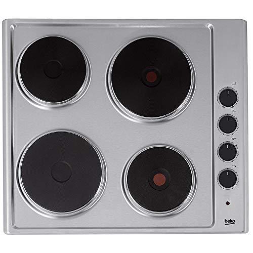 BEKO Cocina Eléctrica Hize 64101 X Finish INOX 60 cm, Medium