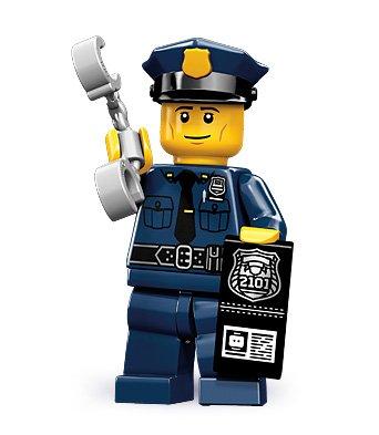 LEGO 71000 - Minifigur Polizist aus Sammelfiguren-Serie 9