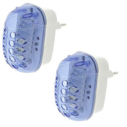 TronicXL 2 unidades de matamosquitos eléctrico con enchufe ecológico