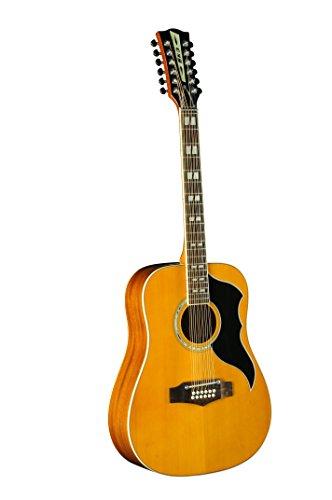 EKO Guitars 06217129 Ranger VR XIII 12-String Dreadnought Guitarra Acústica-Eléctrica