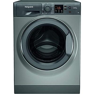 Hotpoint NSWM843CGGUKN 8kg 1400rpm Freestanding Washing Machine - Graphite