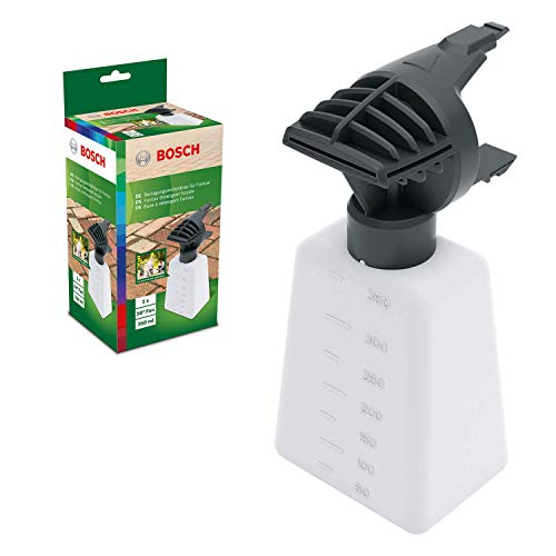 Bosch Accesorio para hidrolimpiadora boquilla Fontus de Bosch, boquilla de detergente Fontus, capacidad de la botella 350ml, en caja