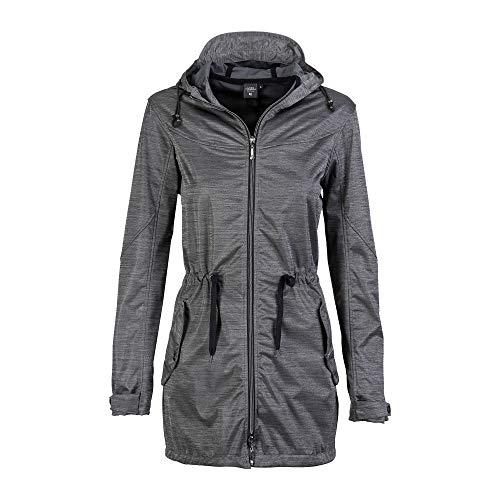 Linea Primero Softshellmantel Damen LORETTE Peak Women Farbe grau, Größe 38
