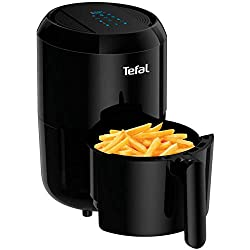 Healthy frying: Air Pulse Technology circulates hot air around food, for crispy and tasty fried food in no time, using little to no oil. Compact design: With a 0.6kg capacity providing enough food two portions, this air fryer is ideal for small kitch...