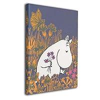 魅力的な芸術 ムーミン Moomin アートパネル ポスター モダン 北欧 印象派 インテリア キャンバス 雑貨 おしゃれ