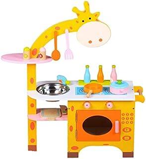 Al Ostoura Toys Giraffe Kitchen Educational Wooden Toy