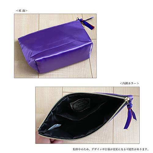 【予約販売】ツイステッドワンダーランド サテンポーチ ポムフィオーレ APDS5505_1