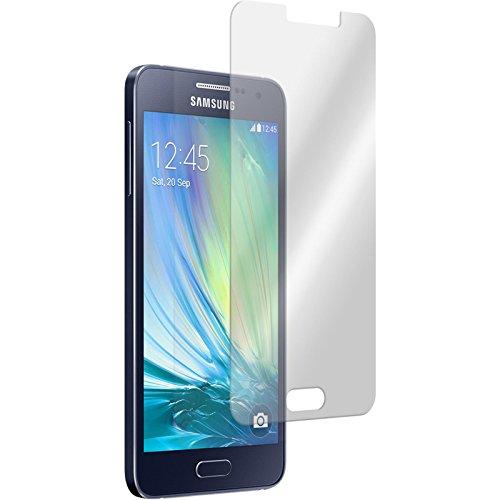PhoneNatic 1 x Pellicola Protettiva Vetro Temperato Chiaro Compatibile con Samsung Galaxy A3 (A300) Pellicole Protettive