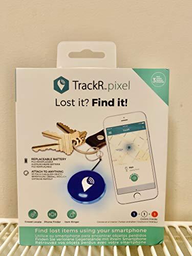 TrackR Pixel - Dispositivo de rastreo Bluetooth para llaves, localizador de teléfono, buscador de billetera