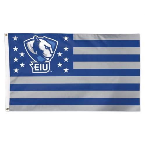 WinCraft EIU Eastern Illinois University Panthers American Flag 3 x 5 Foot - NCAA