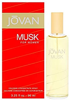 Jovan Musk Women Cologne Concentrate Spray by Jovan, 3.25 Ounce (Pack of 2)