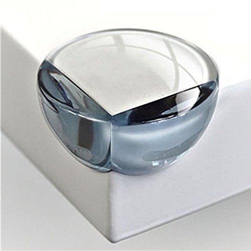 Offgridtec - Protector de esquinas (redondo, 20 unidades, con cinta adhesiva integrada)