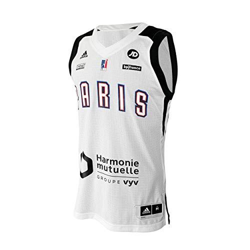 Paris Baloncesto Avenir Paris - Camiseta Oficial del Equipo de fútbol Paris 2019-2020 Unisex, N