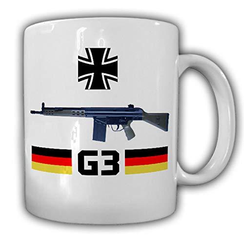 G3 Sturmgewehr Bundeswehr Gewehr Waffe Deko Militär 7,62mm × 51 BW Tasse #14784