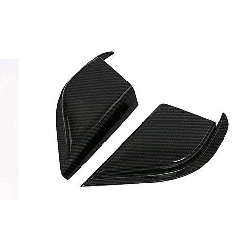 LYSHUI Cubierta Triangular Interior para Puerta Delantera, moldura para Ventana, un Pilar, calcomanías, Accesorios de Coche, aptas para Ford Focus 2019 2020