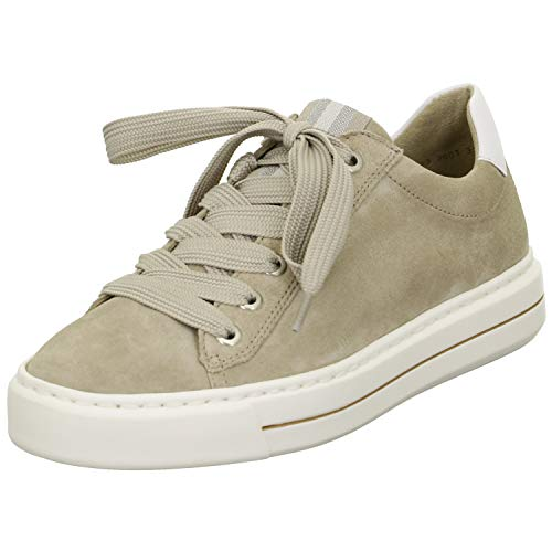 ARA Damen Courtyard Sneaker, Sand,Weiss, 39 EU
