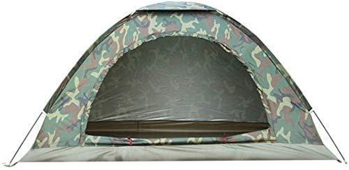 Tiendas de campaña para acampar tienda de campaña al aire libre Tienda de campaña con bolsa de transporte para pesca de mochilero (color: verde, Tamaño: Un tamaño) ( Color : Green , Size : One Size )