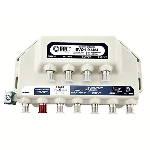PPC Evolution 9-Port Amplifier Signal Booster Cable TV