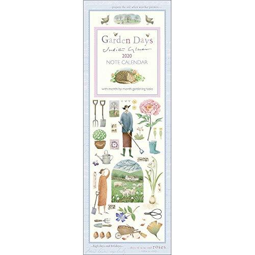 Garden Days Slim Calendar 2020
