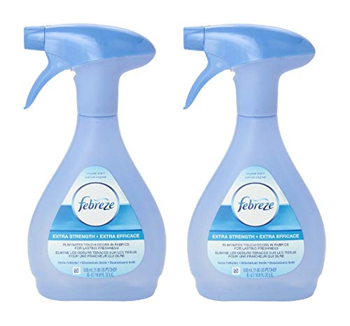 Febreze Extra Strength Fabric Refresher, 16.9 Fluid Ounce (Pack of 2)