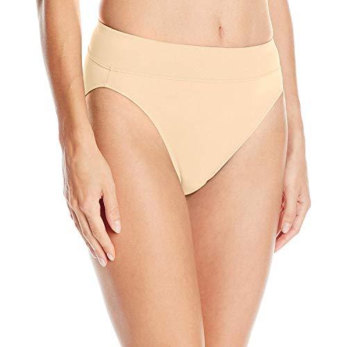Warner's Women's No Pinching No Problems Brief Panty, Sand, X-Large