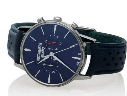 Watchmaker Milano Orologio da Polso Uomo Vintage in Acciaio con Cronografo...