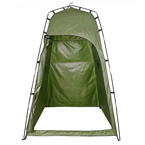 Tente de Douche escamotable, Protection de la Vie privée, Toilettes de Camping Portables et vestiaire, abri spacieux Extra-Haut, Facile à Installer pour la randonnée en Plein air