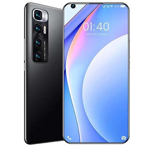 Smartphone Sin Sim Desbloqueado, 6000 Mah Batería Grande, Cuatro Cámaras Traseras, 12 Gb De Ram + 512 Gb de Rom, Sistema Android...