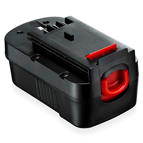 1Pack 3.7Ah HPB18 18V Ni-Mh Replacement Battery for Black and Decker 244760-00 A1718 FS18FL FSB18 Firestorm Cordless Power Tools
