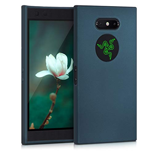kwmobile Razer Phone 2 Hülle - Handyhülle für Razer Phone 2 - Handy Case in Metallic Petrol