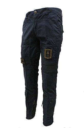 Aeronautica Militare Pantalone Anti-G PA1284CT, 08184 Blu Navy, Uomo, Trousers, Pants, Hosen (XL IT 52)